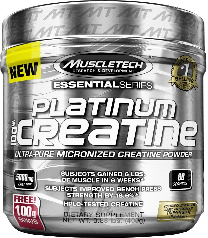 Platinum Creatina 400 Gr Muscletech (80 Servidas) - U S 29 6e4793121bc