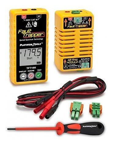 platinum tools tft100 fault trapper arc fault circuit test ®
