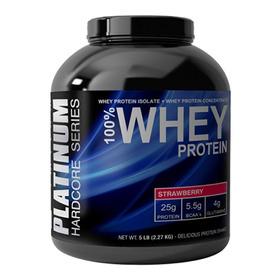 Platinum Whey Protein 5 Lbs Glutamina Y Bcaa's Envios