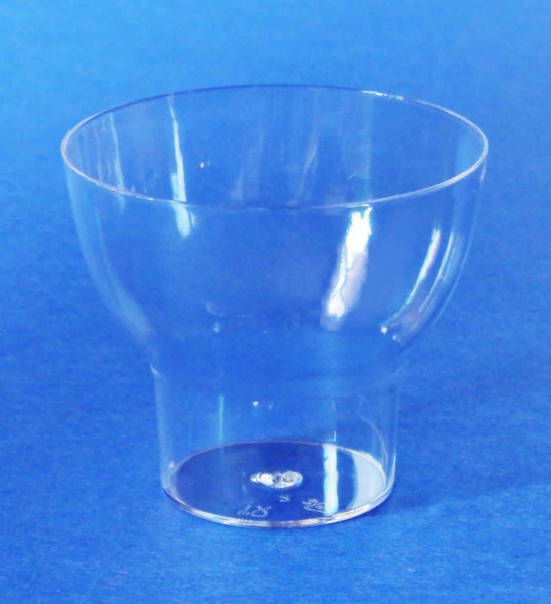 Platitos copas vasos acr lico mesa dulces postre botana for Copas y vasos para bar