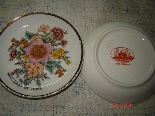 platitos de porcelana importados