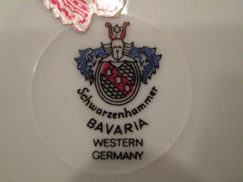 plato aleman schwarzenhammer bavaria - germany original