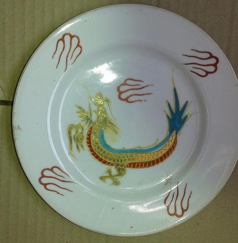 plato antiguo francés coronet