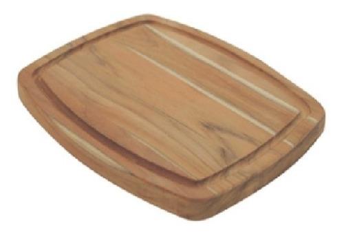 plato asado canaleta 21 x 26 cm madera zona norte