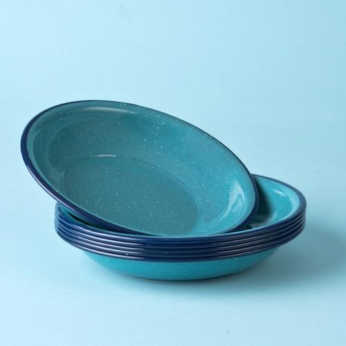 plato avenero de peltre 20 cm capacidad 500 ml, 6 piezas