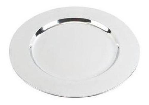 plato base de acero inoxidable