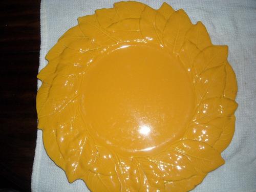 plato ceramica italiano  grande