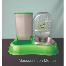 Plato Comedero Para Croquetas Y Agua, Para Mascota