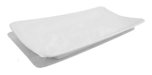 plato complemento anfora plato rectangular 30x16cm baguette