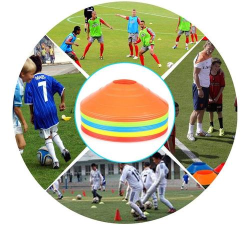 plato conos entrenamiento coordinacion fútbol 22cms crazy s