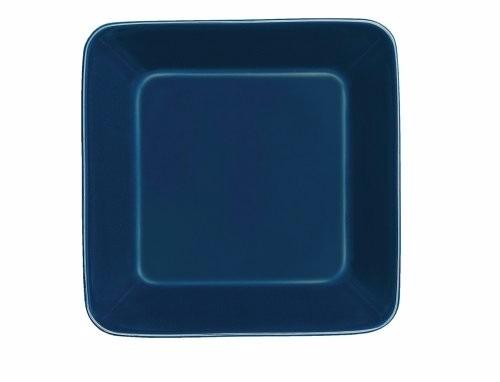 Plato cuadrado de 6 pulgadas vitro porcelana azul for Platos cuadrados de porcelana