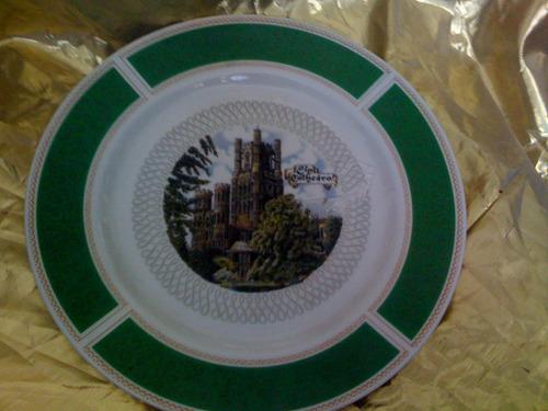 plato de coleccion  ely catedral