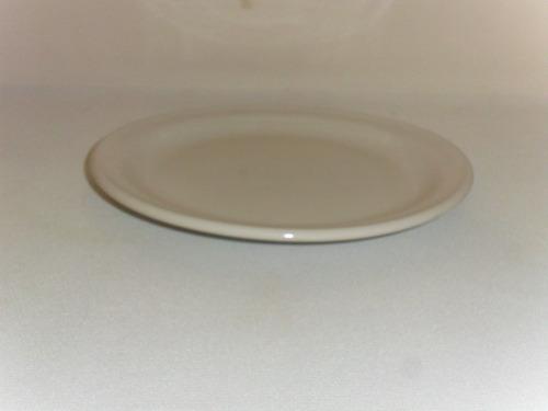 plato de loza arrocero de19.5 cm color blanco buena calidad