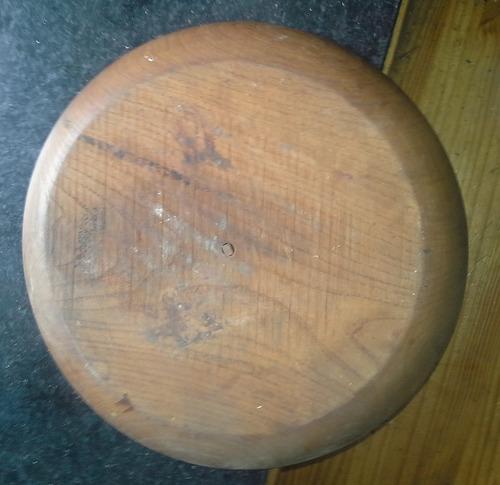plato de madera en 32 cm