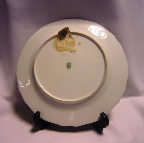 plato de porcelana alemana bavaria