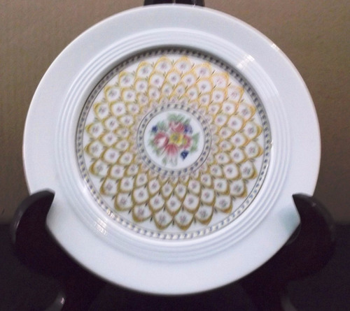 plato de porcelana bavaria krautheim, alemana