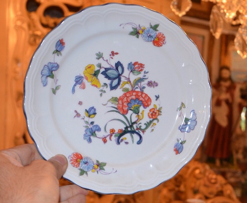 plato de porcelana española bidasoa.