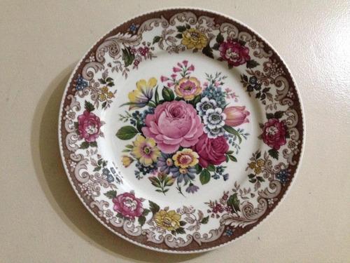 plato de porcelana gloria bayreuth handwork bavaria germany