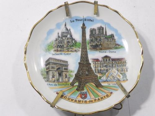 plato decorativo de porcelana imperia limoges