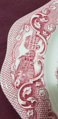 plato decorativo inglés johnson brothers old london 25x25 cm