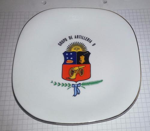 plato ejercito argentino grupo de artilleria 9