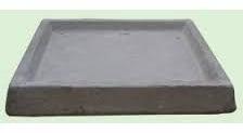 plato fibrocemento 100x20cm jardinera rectangular