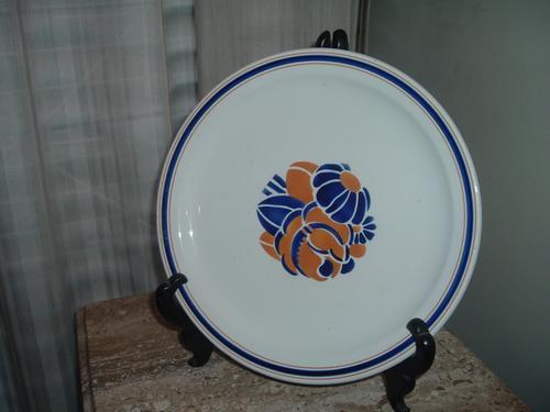 plato frances de porcelana