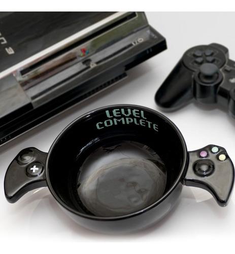 plato gamer control de video juegos level complete h1334