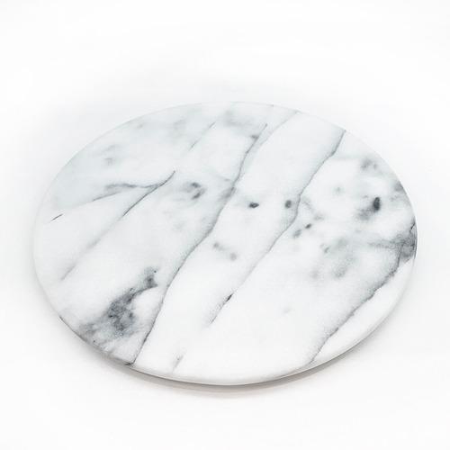 plato giratorio de marmol - reposteria - tortas - 30cm