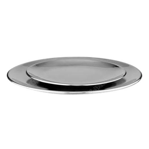plato grande en acero inoxidable