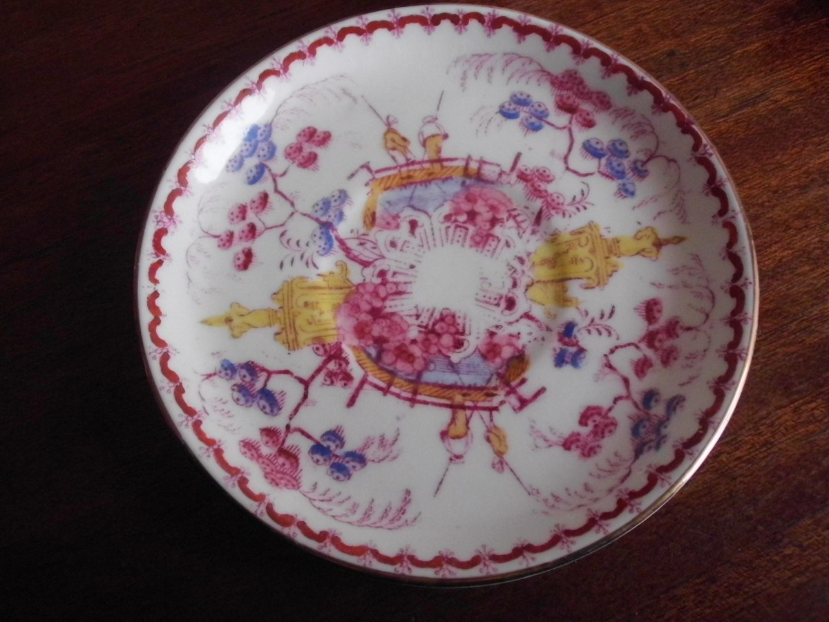 Plato ingl s hammersley longton porcelana loza deco 6 for Porcelana en ingles