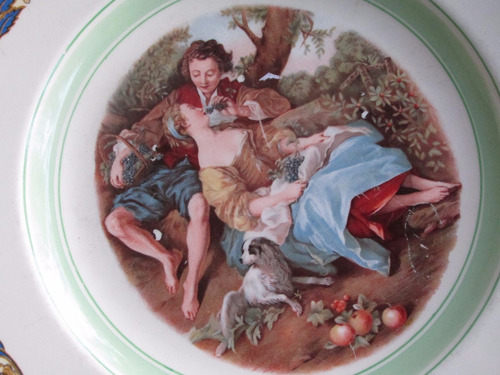 plato ingles motivo de pareja