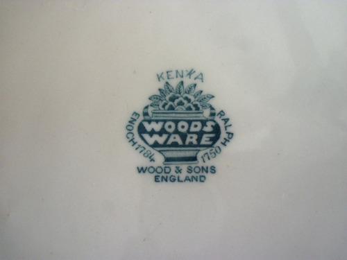 plato ingles woods ware