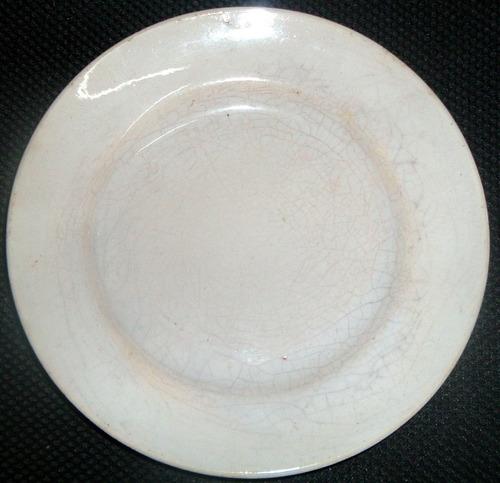 plato liso antiguo 1950 ind argentina en la plata fraganplat