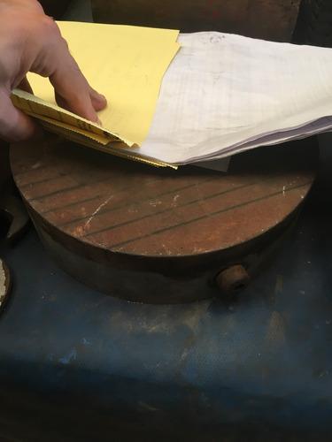 plato magnetico redondo para rectificadora