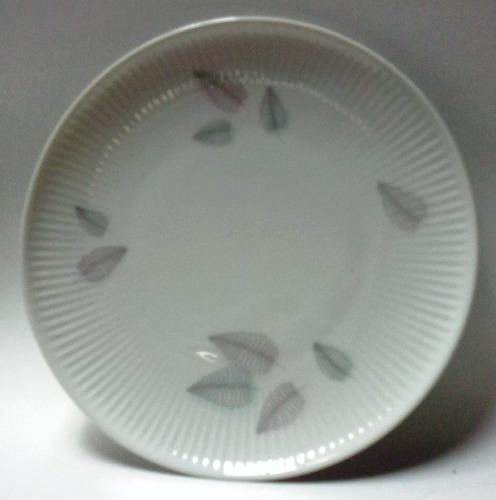 plato mediano porcelana thomas alemana años 50 hojas