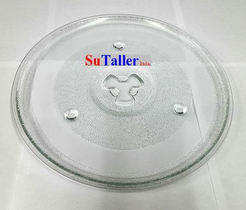 plato para microondas diametro 31.5cm calce trebol