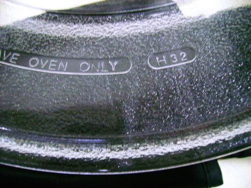 plato para microondas refractario cod. h32 de 39.5 c. vmj