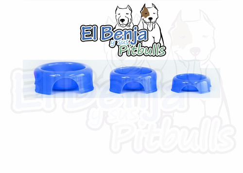 plato para perro grande  plastico