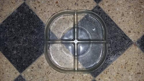 plato para picadas de vidrio de 5cm de espesor
