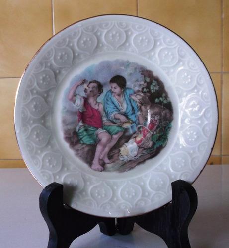 plato pequeño de porcelana schirnding bavaria