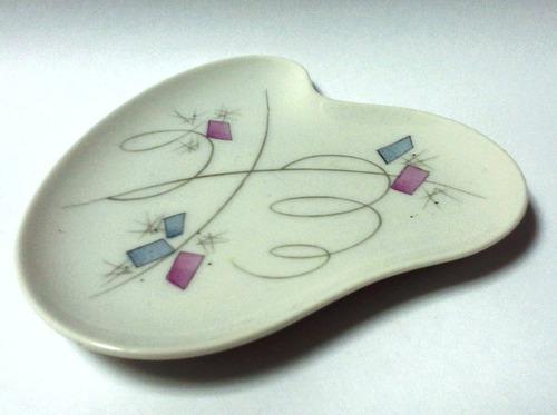 plato pequeño porcelana hutschenreuther años 50