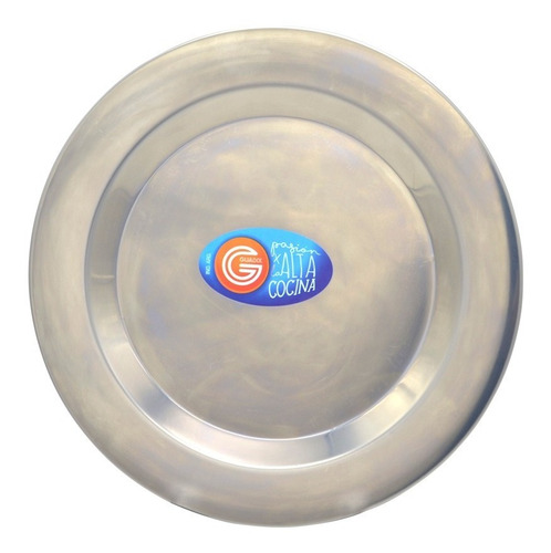 plato playo acero inoxidable 22 cm guadix