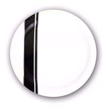plato playo postre 21cm vajilla diseño redondo minimalista