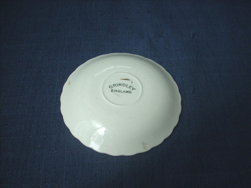 plato porceana ( grindley england ) p / decoracion