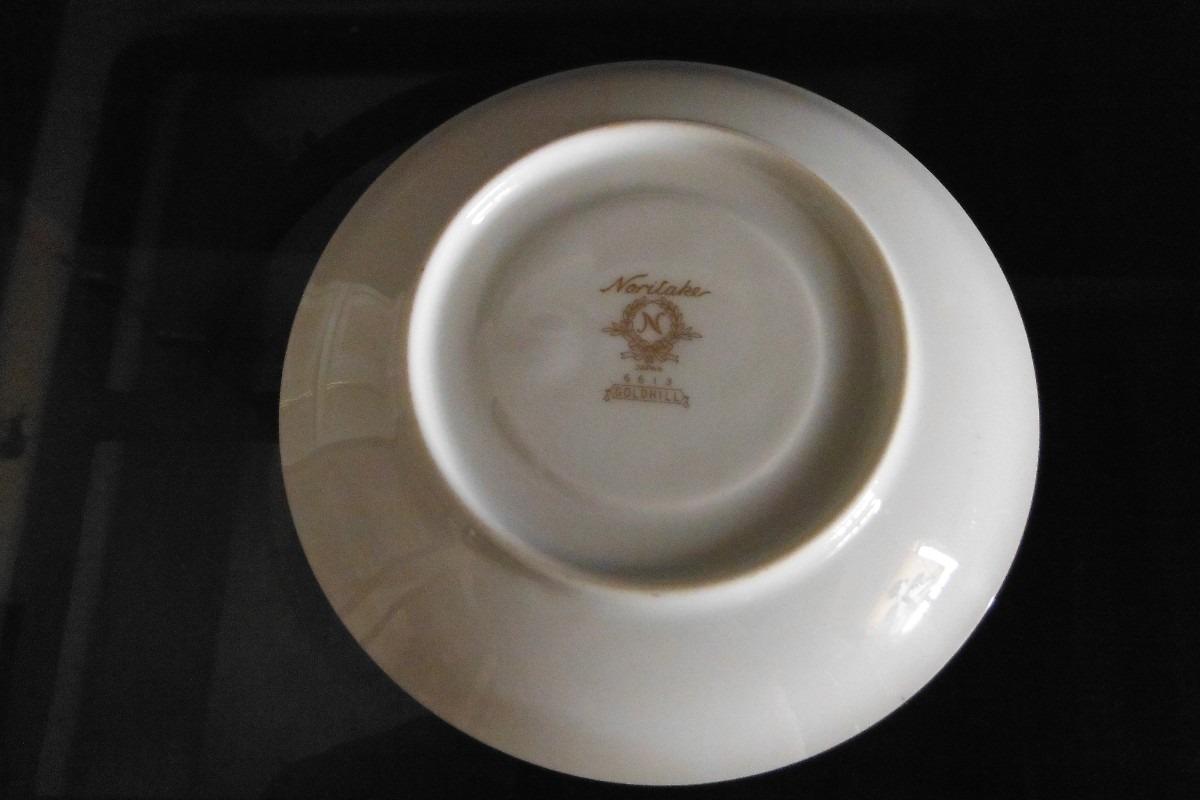 Plato porcelana fina noritake goldhill japon retro vintage for Platos porcelana
