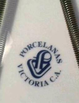 plato porcelana victoria