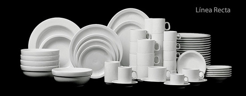 plato postre x 12 porcelana verbano