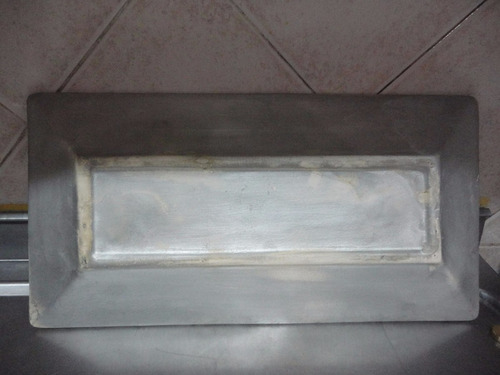 plato rectangular en bizcocho ceràmico. liquido!!