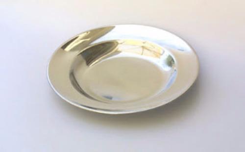 plato sopero  acero inoxidable